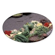 Asia, Vietnam, Saigon. Vegetable ma Decal