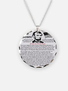 fourscorecleartemplate4 Necklace