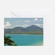 Four Mile Beach and Trinity Bay view Greeting Card