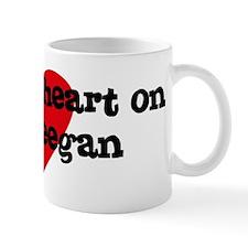Heart on for Keegan Mug