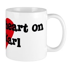 Heart on for Karl Mug
