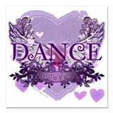 Dance teacher Square Car Magnets