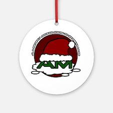 Acidmods-Christmas Round Ornament