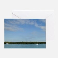 Noosa. Along the Noosa River / Morni Greeting Card