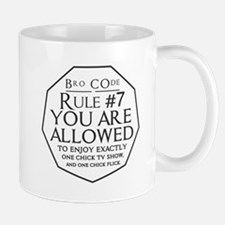 Bro Code Rule#7 Mugs