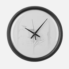 DG_MONROE_02b Large Wall Clock
