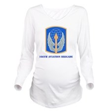 SSI - 166th Aviation Long Sleeve Maternity T-Shirt