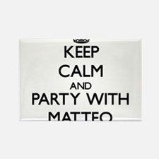 Keep Calm and Party with Matteo Magnets