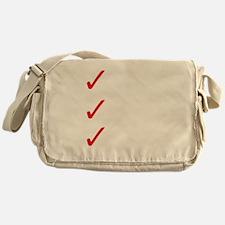 Triathlon-Short-Course-white Messenger Bag