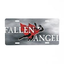 Fallen Angel 14x6 Aluminum License Plate