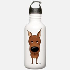 MinPinShirtFront Water Bottle