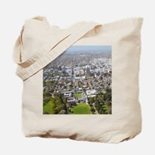New Zealand - aerial Christchurch, South  Tote Bag