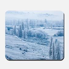Farmland and Hoar Frost, Fruitlands, nea Mousepad
