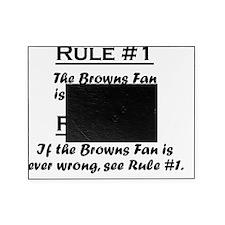 Rule Browns Fan Picture Frame