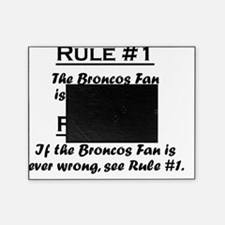 Rule Broncos Fan Picture Frame
