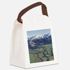 Canterbury Plains and Southern Al Canvas Lunch Bag