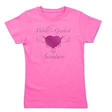 Heart_Secretary Girl's Tee