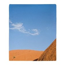 Uluru - Kata Tjuta National Park Throw Blanket