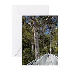 Tahune AirWalk, Tahune Forest Reserv Greeting Card