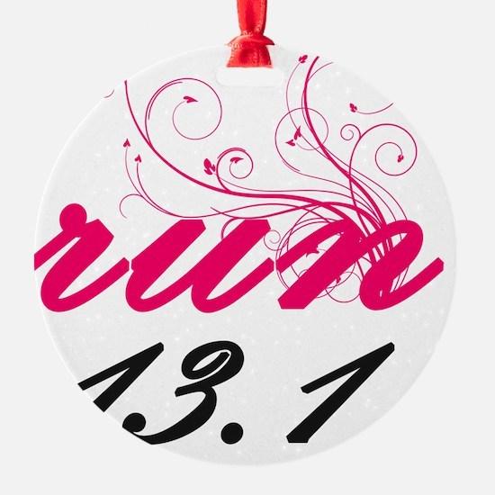 run13_pink2_sticker Ornament