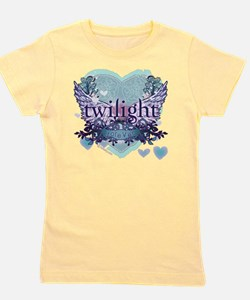 twilight forever aqua heart copy Girl's Tee