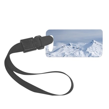 Rangipo Desert and Mt Ruapehu, C Small Luggage Tag