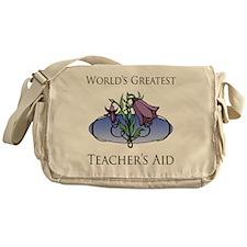 FloralFabulous_TeachersAid Messenger Bag