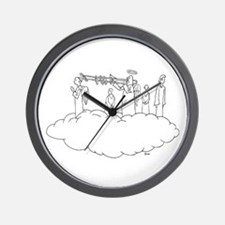 Trombone Heaven Wall Clock