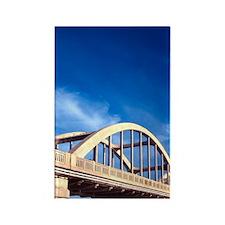 Balclutha Bridge and Clutha River Rectangle Magnet