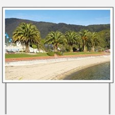 Beach at Picton, Marlborough Sounds, Sou Yard Sign
