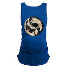 yin_yang_wolves Maternity Tank Top