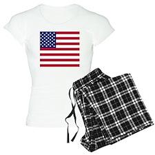 US Flag Btn 1 Pajamas