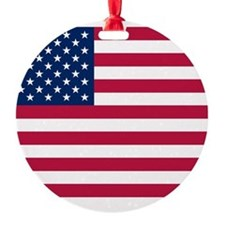US Flag Btn 1 Ornament