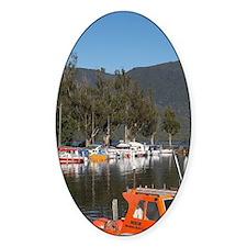 Marina, Te Anau, Fiordland, South I Decal