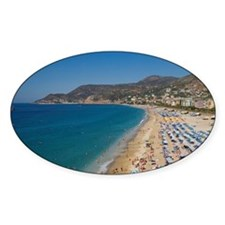 Aerial view of beach in Alanya, Ant Decal