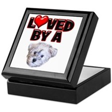 Loved by a Schnoodle Keepsake Box