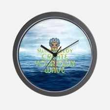 Create Your Own Wave Wall Clock