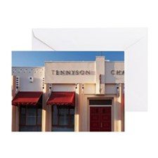 Tennyson Chambers, Napier, Hawkes Ba Greeting Card
