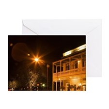 Historic Martinborough Hotel, Martin Greeting Card