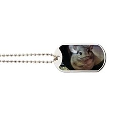 CJ on wheel - Magnet rectangle Dog Tags