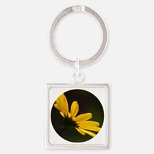 yellowdaisy35x35 Square Keychain