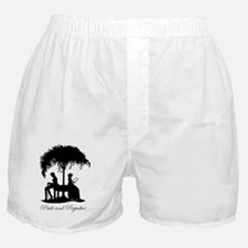 Pride and Prejudice Darcy and Lizzie Boxer Shorts