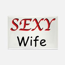 Sexy Wife Rectangle Magnet