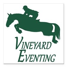"""3 day eventing Square Car Magnet 3"""" x 3"""""""