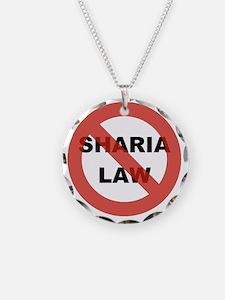 NO SHARIA LAW Necklace