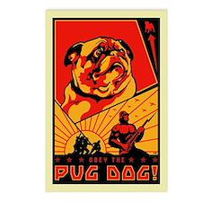 Pug Dog! Postcards #3 (Pack of 8)