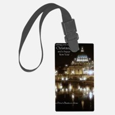 (5x7) St Peters across the Tiber Luggage Tag