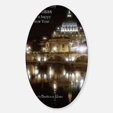 (5x7) St Peters across the Tiber at Decal