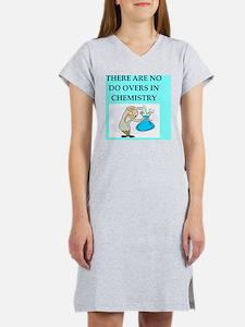 CHEMISTRY joke gifts t-shirts Women's Nightshirt