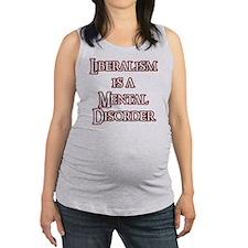liberalism_red Maternity Tank Top